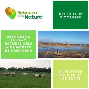 Activitats Setmana de la Natural 10 al 12 d'octubre