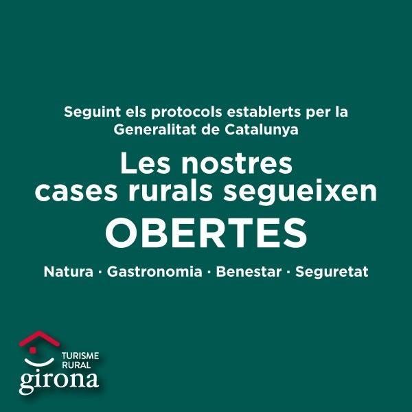 Mesures Covid-19 - Turisme Rural Girona